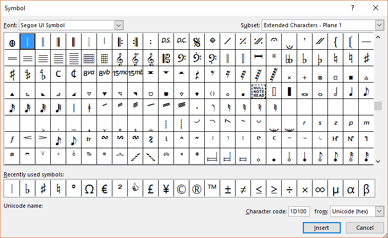 How To Insert Musical Symbols In Ms Word 2010 Plus Where To Find