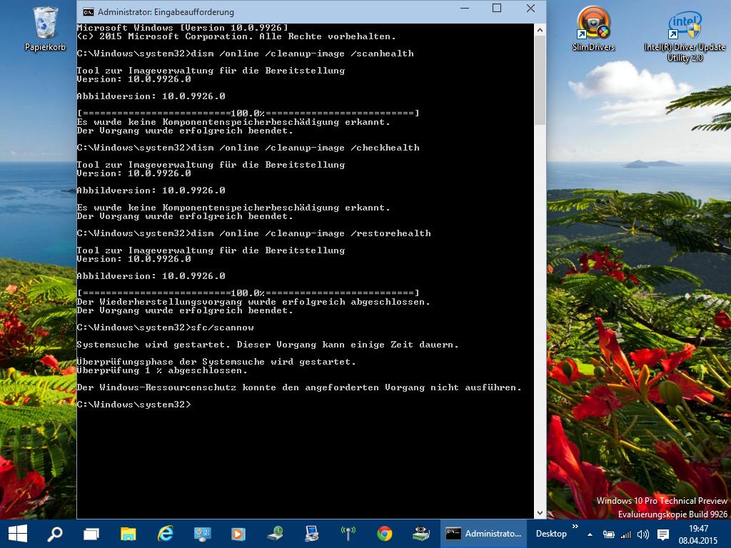 Fehlercode: 80072efd bei Windows Update