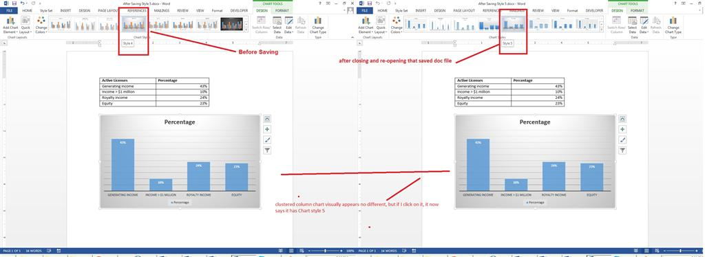 Ms word 2013 clustered column chart word 2013 application is ms word 2013 clustered column chart word 2013 application is behaving bizarrely while applying chart style style 4 onwards to the inserted clustered ccuart Images