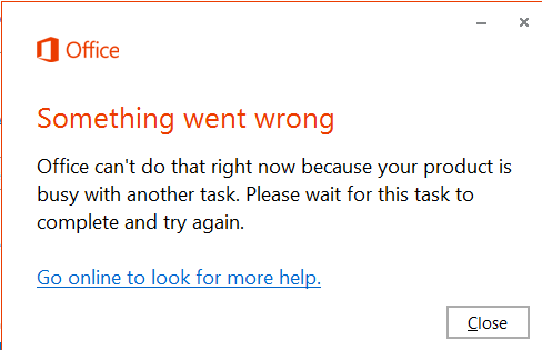 Office 2013 disappeared after installing automatic updates