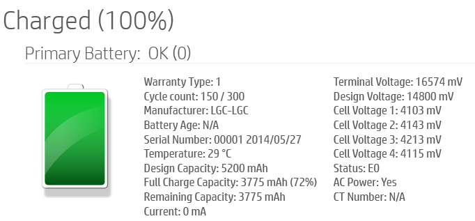 Notebook battery calibration does not work - notebook