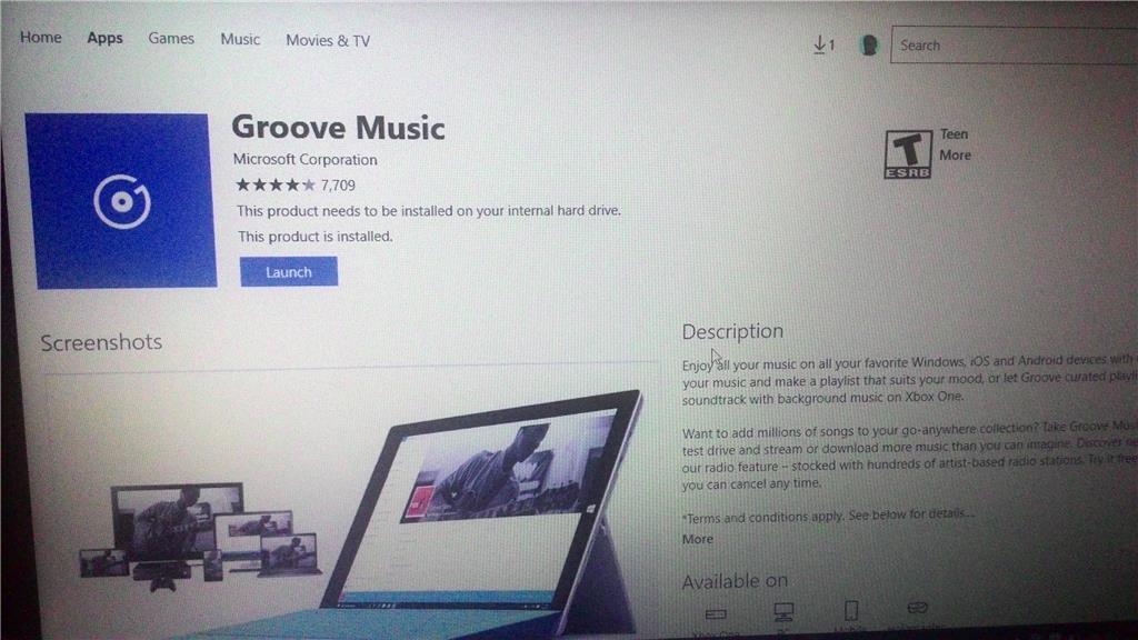 Groove Music,