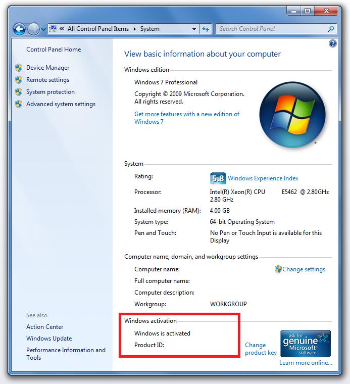 microsoft genuine advantage diagnostic tool windows 8.1