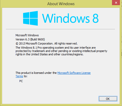 windows activation 8.1