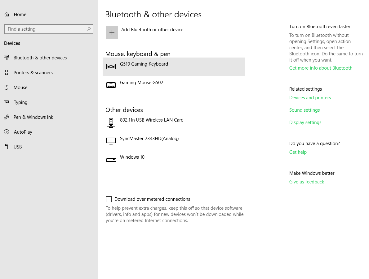Bluetooth 'Activate/Disable' button not present in - Microsoft Community