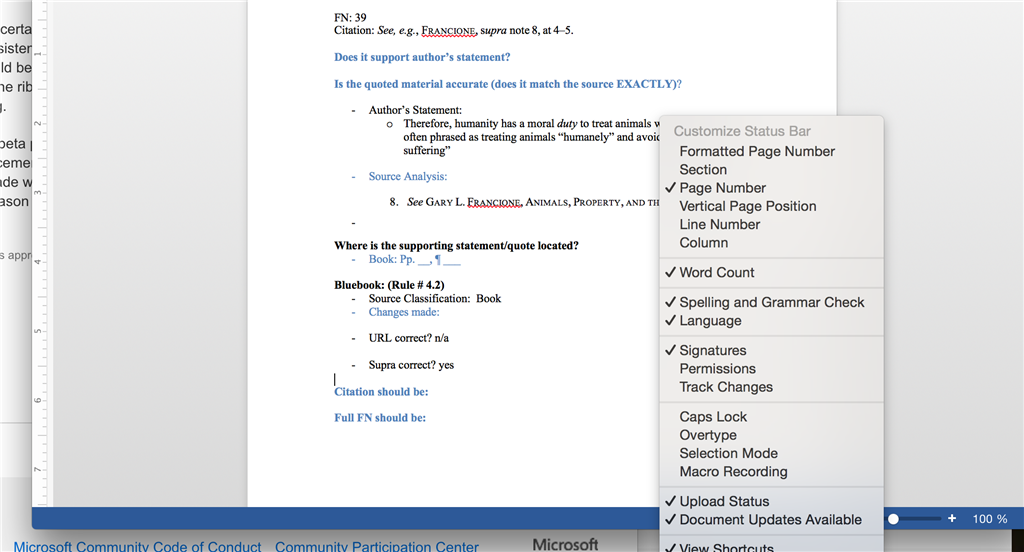 selection is locked microsoft word 2019