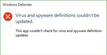 Windows Defender not detecting Viruses and Malware
