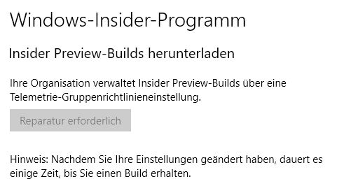 Windows 10 Home Insider