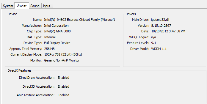 opengl driver download windows 8.1