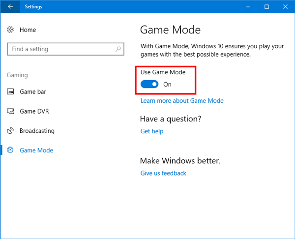Missing Broadcasting setting! - Microsoft Community