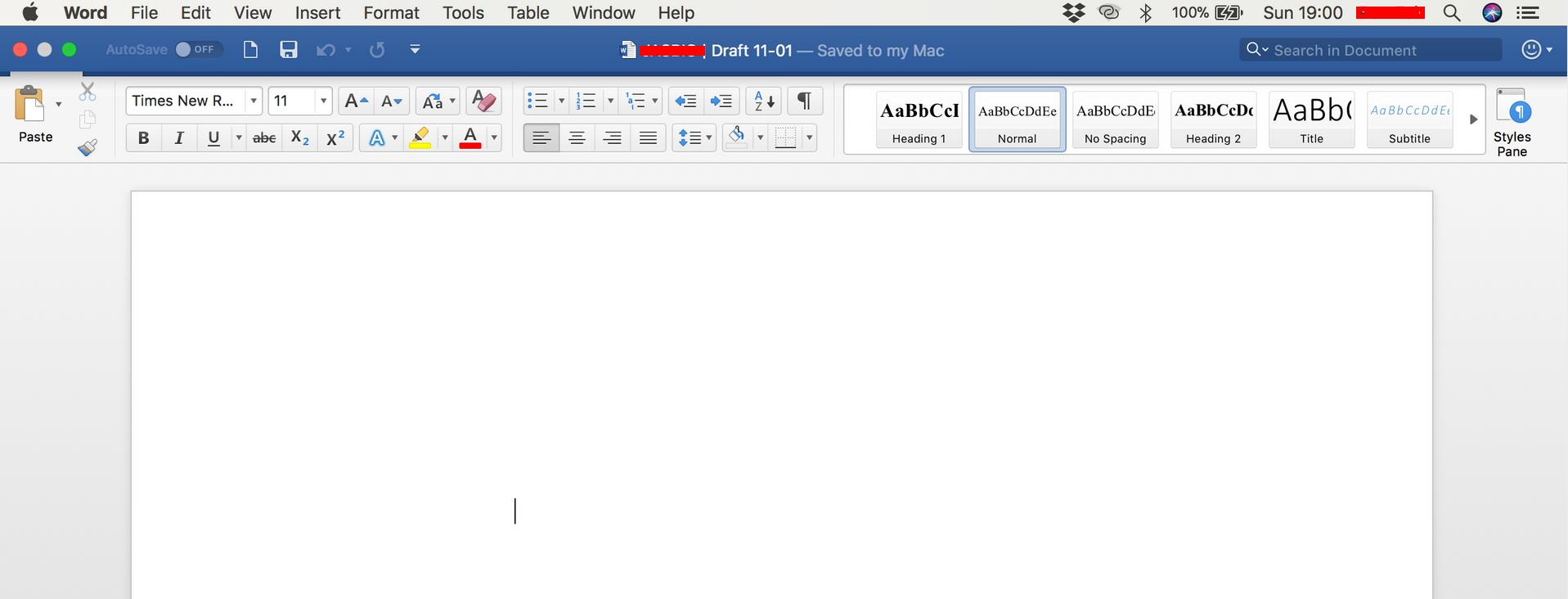autosave in microsoft word for mac