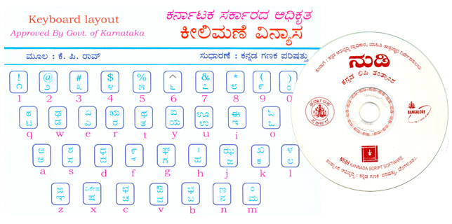 Need keyboard layout for Kannada langugae for easy and