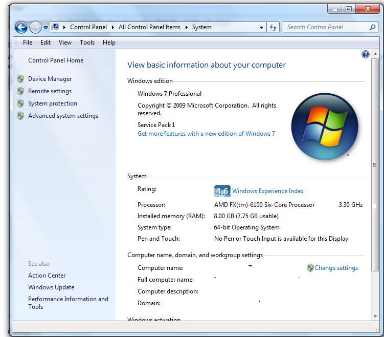Sysdm cpl скачать файл для windows xp