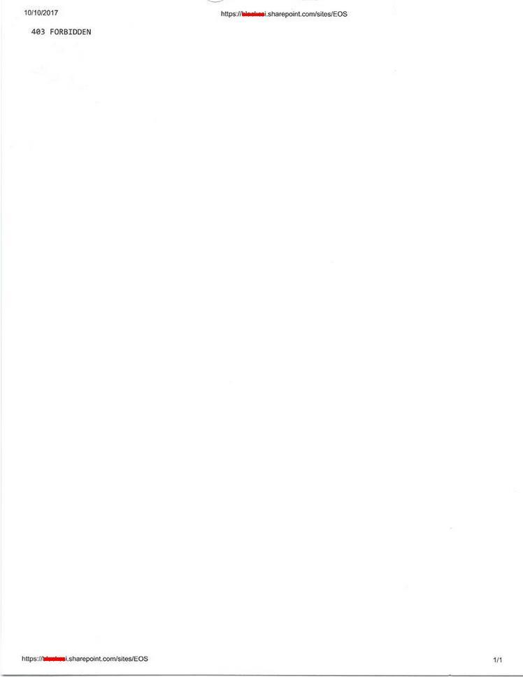 Sharepoint Folder with 403 Forbidden Error - Microsoft Community