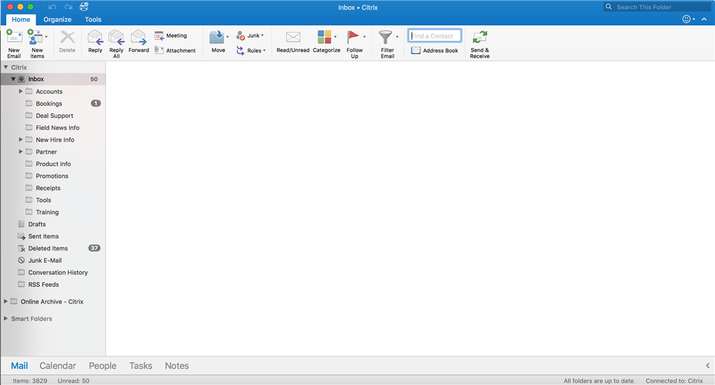 after outlook inbox view shows blank after window is microsoft community. Black Bedroom Furniture Sets. Home Design Ideas