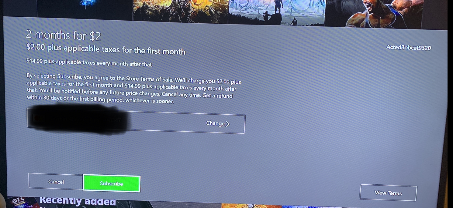 Game Pass sale verbiage is confusing [IMG]