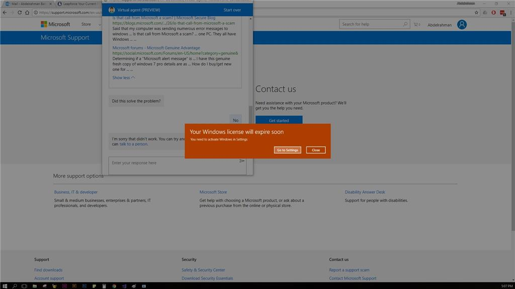 how to check windows 10 activation expiry