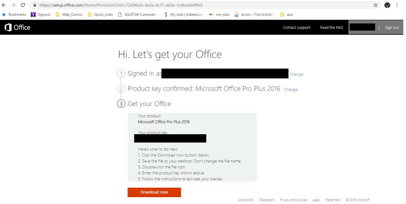 Locating the Office Offline Installer - Microsoft Community