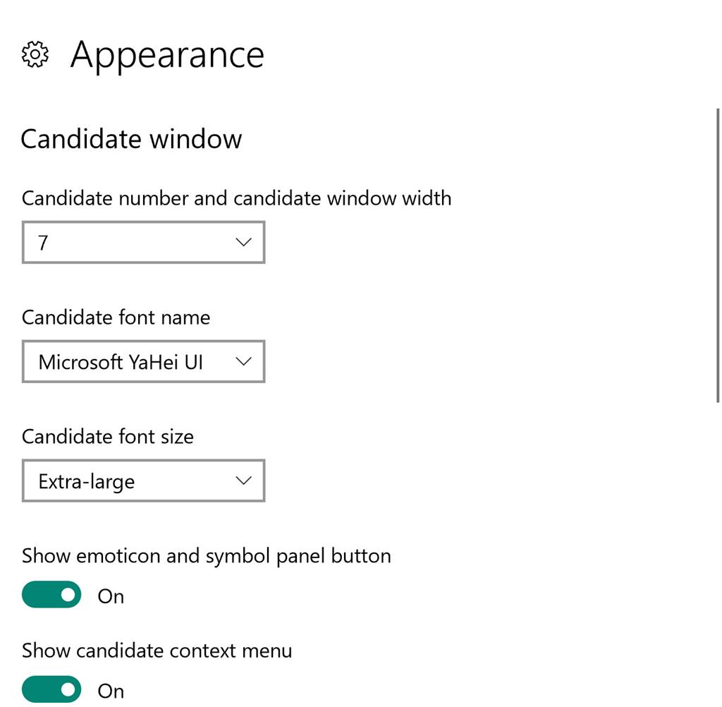 Chinese Pinyin Typing Candidate Window Microsoft Community