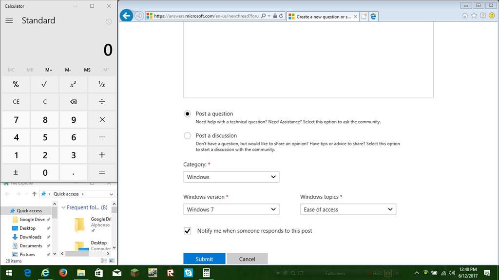 Windows 10 uses windows 7 basic theme in internet explorer