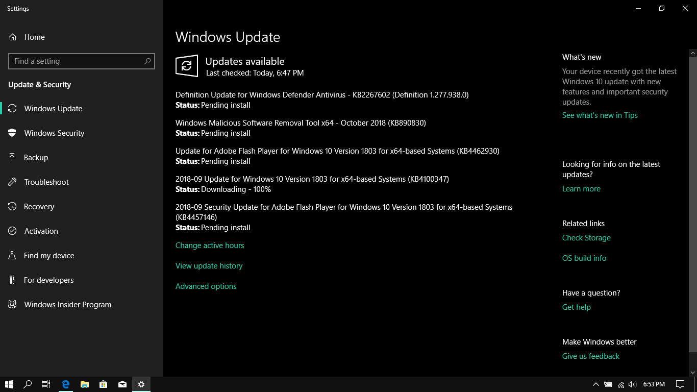 Windows 10 update stuck at ''Downloading 100%'' - Microsoft