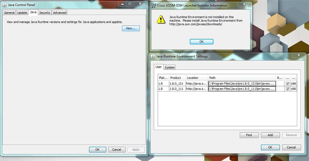 Java Runtime Environment error - Microsoft Community