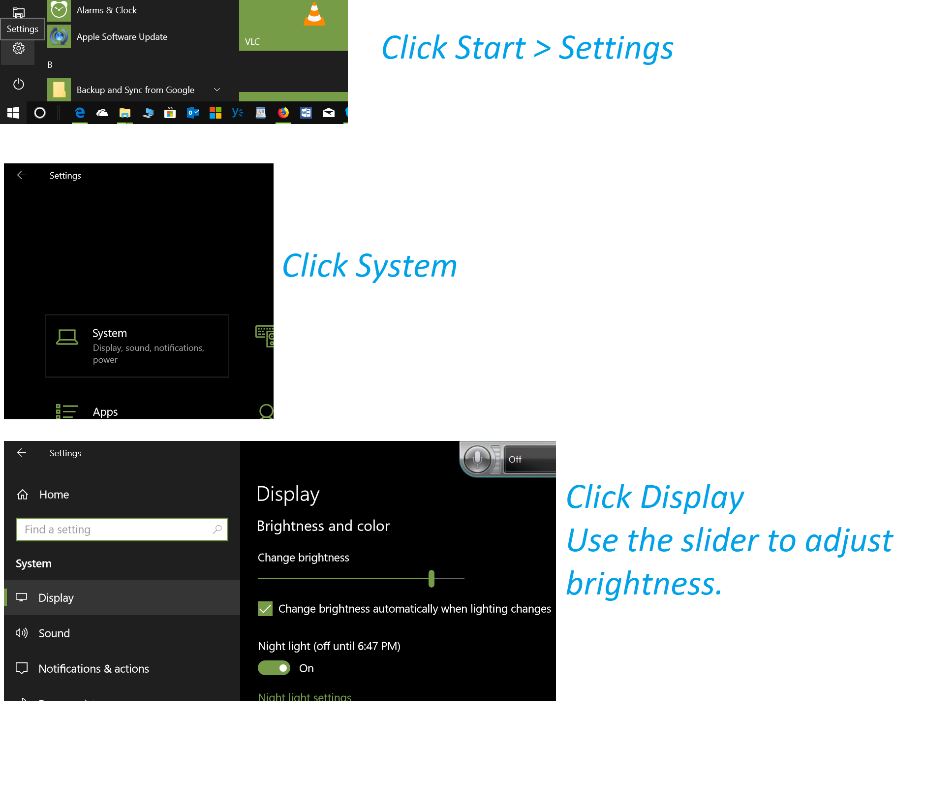 Easy Guides are intended to make it easy for users to follow instructions  regarding basic tasks in Windows 10. Guides are a single info-graphic that  you can ...