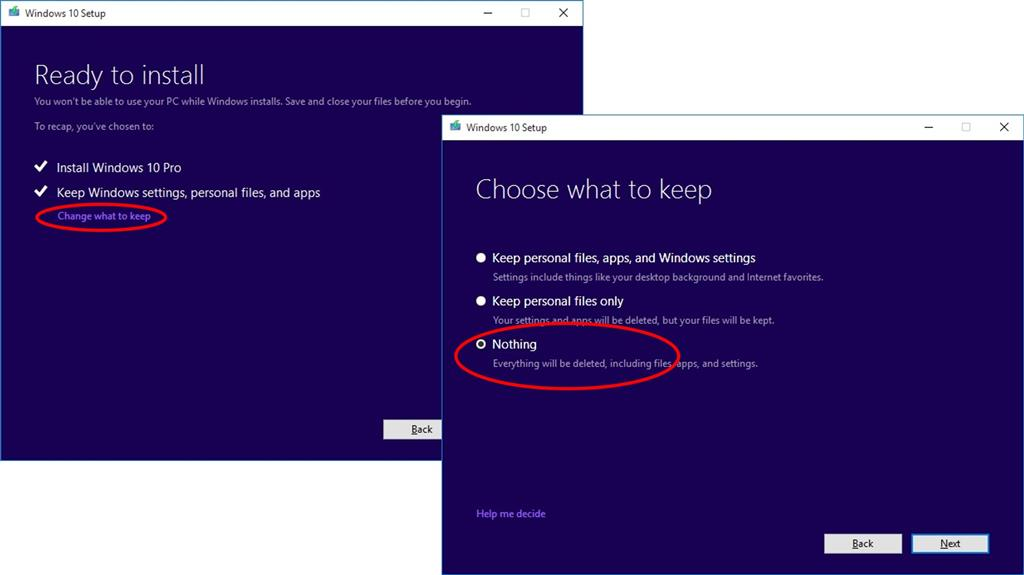 how to clean windows 10 using temp