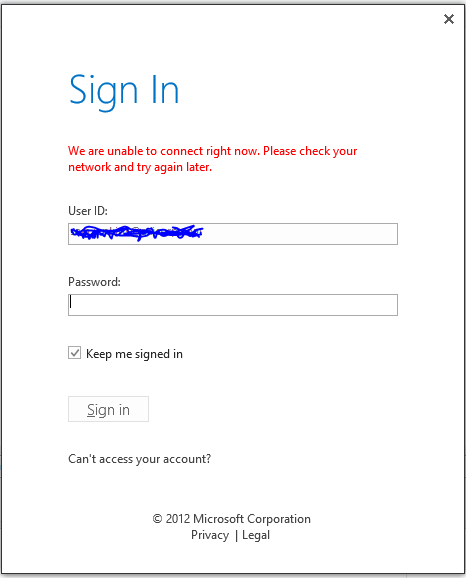 cannot sign in to sharepoint designer with corporate o365 account