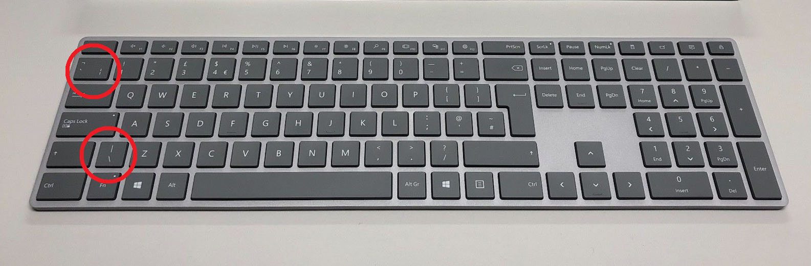 Why is the UK Keyboard layout wrong? - Microsoft Community
