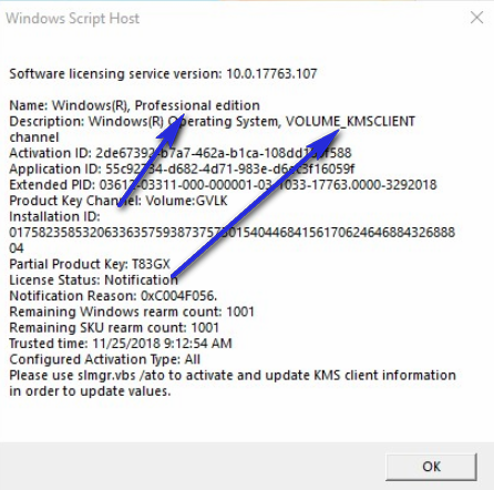 Can't Activate Windows 10 Pro - Microsoft Community