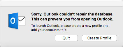 how to make a new outlook profile on a mac