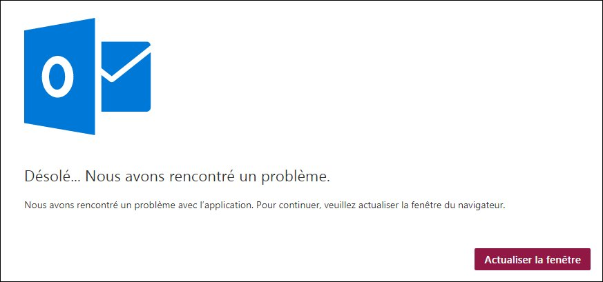 Solution: Outlook n'a pas pu configurer votre compte car nous avons rencontré un problème