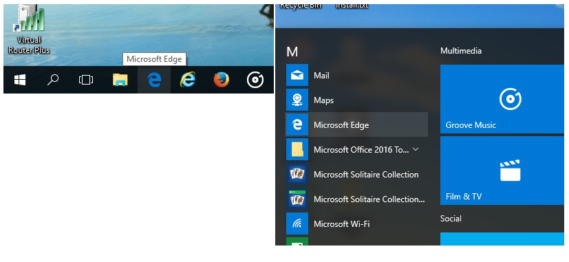 How to locate and open Internet Explorer in Windows 10