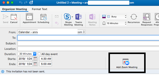 Outlook Mac organize meeting ribbon icons (Calendar) - Microsoft