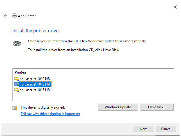 download driver hp laserjet 1012 windows 7 32 bit