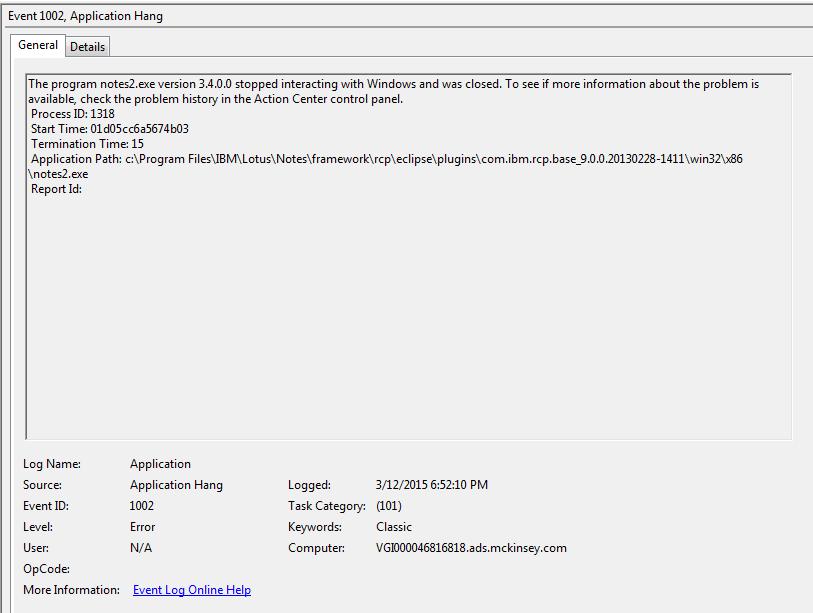 ba5d6a09 7547 4b2c ba36 4469db5bf00b - Application Hang 1002 Windows 10