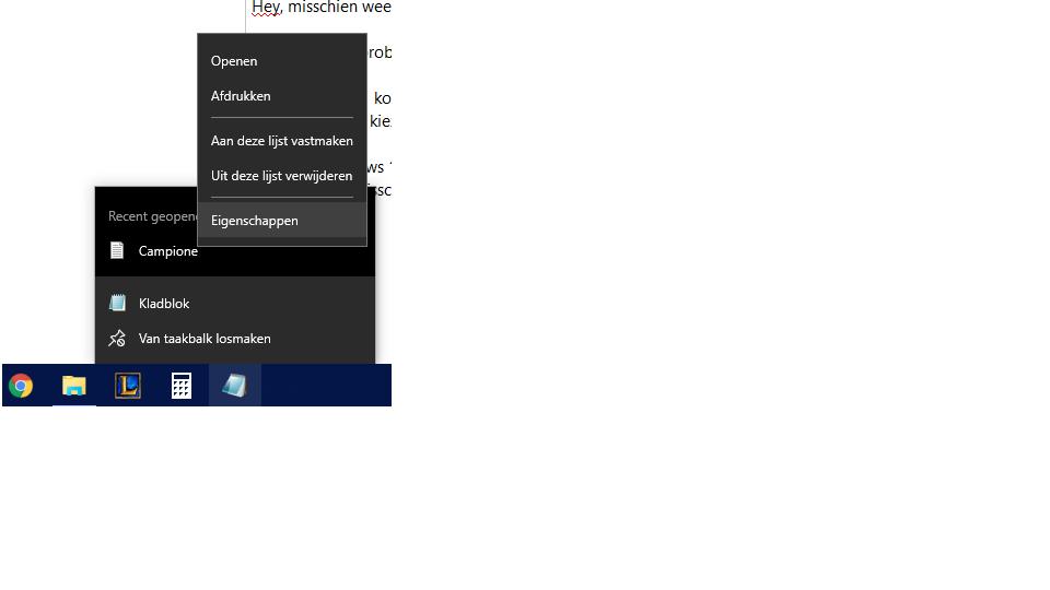 Bestandlocatie openen op kladblok (was bij windows 8.1 ook ... | 960 x 540 png 19kB