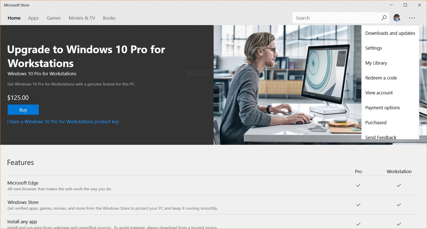Windows 10 Pro for Workstations - Microsoft Community