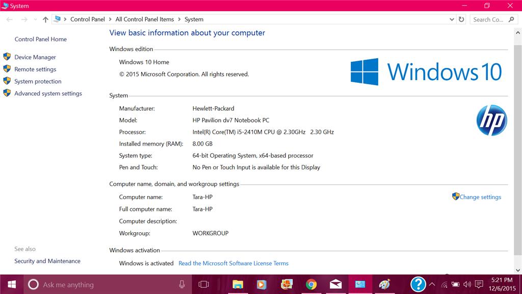 windows 7 for slow laptop
