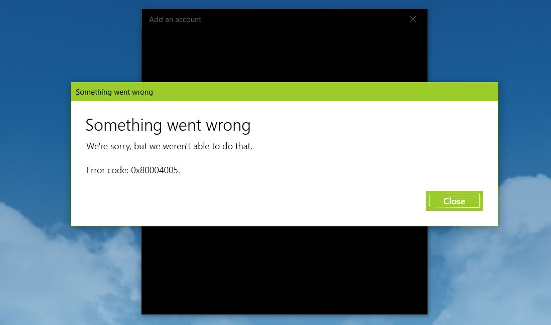 Windows 10 Mail stopped working after 1903 update