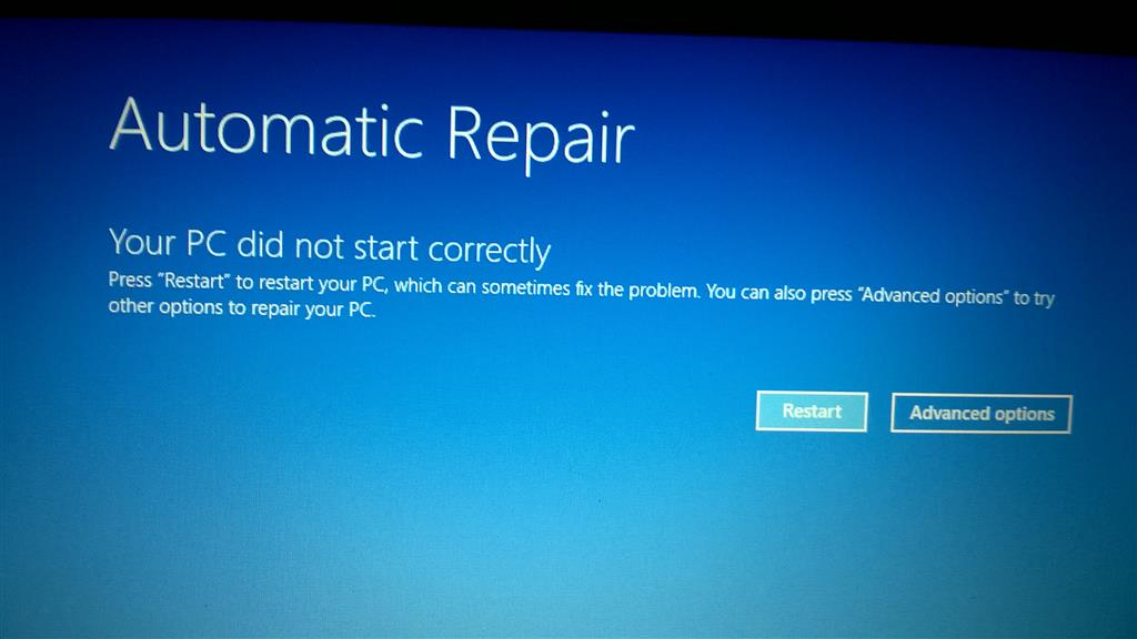 Blue screen of death after Windows 10 downgrade to Windows 7 - error