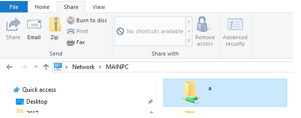 windows 10 remove homegroup shortcut