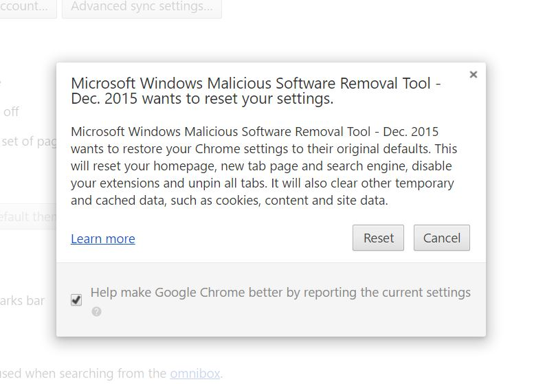 MS Windows Malicious Software Removal Tool keeps wanting to