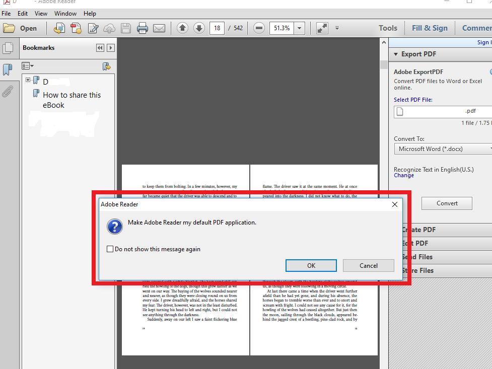 Edge keeps replacing Adobe as default PDF viewer - Microsoft