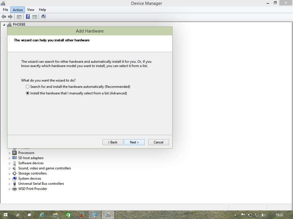 Select The Device You Want To Upgrade With Driver In My Case It Was Display Adapter Picture 5 And Hit Next