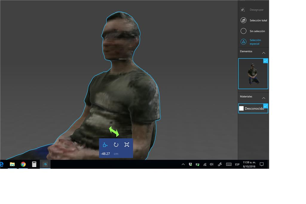 XBOX One Kinect for 3D scanning on Surface Pro 4 - Microsoft