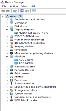 Dual Drivers causing a 'Ghost' Monitor - Microsoft Community