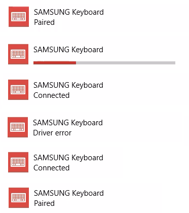 Windows 10 Bluetooth driver needs to be reinstalled all the