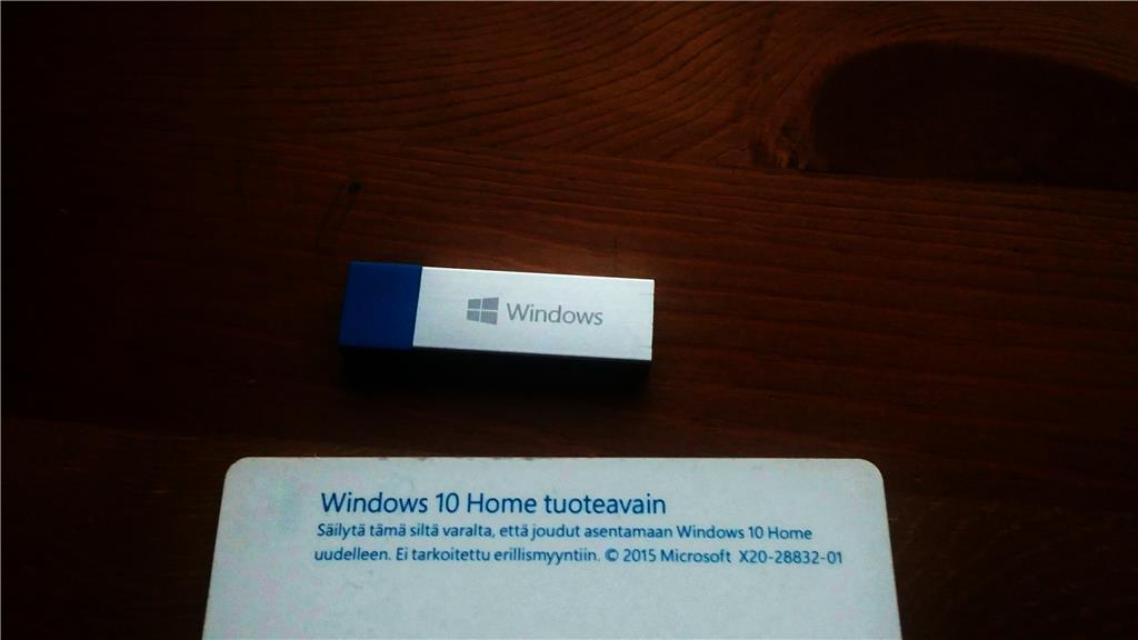 Windows 10 Asentaminen